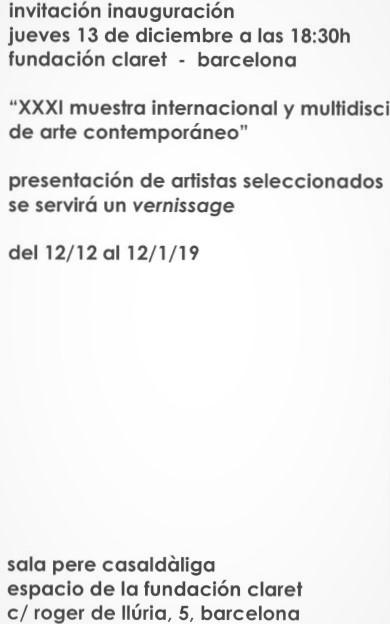 _INVITACIÓN CLARET DICIEMBRE 18