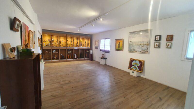 Sala 1 de la exposicion galeria